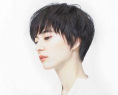 Shot Hair Styles, Great Cuts, Hair Reference, Japan Fashion, Pixie Haircut, Pixies, Hair Inspo, Short Hair Cuts, Bob Hairstyles