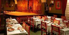Café de Chinitas: tablao flamenco en el barrio de Palacio, centro de Madrid.
