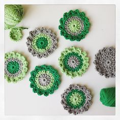 bloem haakpatroon - flower crochetpattern