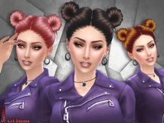 Hair s34 Dayana by Sintiklia at TSR • Sims 4 Updates