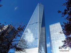 TURISCURIOSA EN USA: DÍA 11. LOWER MANHATTAN (I), LA ZONA CERO Y PASEO EN FERRY A STATEN ISLAND. One World Trade Center, o Torre de La Libertad.