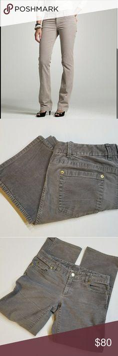 J. Crew grey corduroy pants J. Crew grey corduroy pants in perfect condition 29in inseam straight leg J. Crew Pants Straight Leg