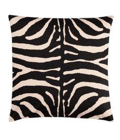 Zebra Stripe Cushion - H
