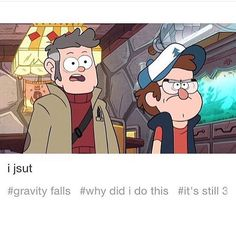 I Slowly Clap in the Background | Gravity Falls