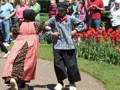 Dutch And Holland   ... Traditional Dutch Folk Dance at Holland Tulip Festival, May 4, 2010