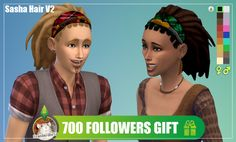 [Standardheld] • Sasha Hair V2 * ~ * ~ * 700 followers gift * ~ * ~...