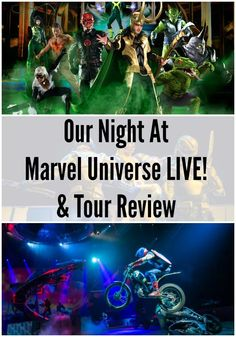 Our Night At Marvel Universe LIVE!