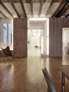 Flat em Barcelona minimalista - Minimalismo na Decoração
