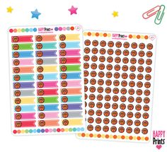 Basquetball, Sport Functional Planner Stickers de HappyPrints1 en Etsy