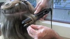 Create Dry Finger Waves with InfraShine ClassicLine Flat Iron - YouTube