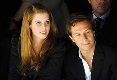 Princess Beatrice of York and her boyfriend Dave Clark