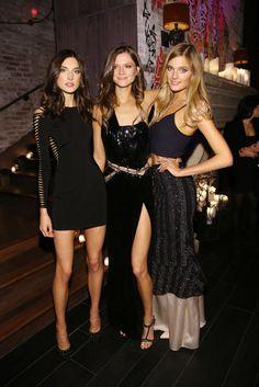 Top looks: Los 7 días de las celebrities  .Kasia Struss y Lily Donaldson