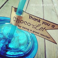 Aqua Seventy Six: End of the Year Teacher's Gift/Teacher Appreciation