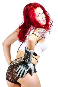 Sadie Powerglove Photoshoot