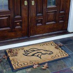 Denver Broncos Door Mat