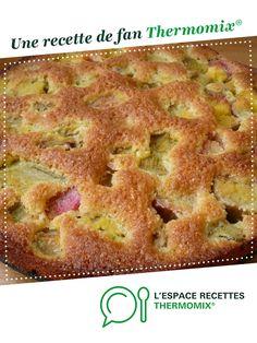 Gateau tendre à la rhubarbe par Damy. Une recette de fan à retrouver dans la catégorie Pâtisseries sucrées sur www.espace-recettes.fr, de Thermomix®.