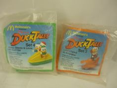 Rare Toys From the 80s | Duck Tales Disney Vintage 80s Mcdonalds Rare Toys | eBay