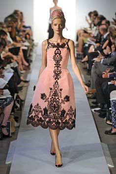 Oscar de la Renta - Semana de moda de Nova York 2013