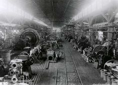 The industrial revolution consisted many factories that were ran by steam engined powered technology. The technology at the time is a factor within the artform of Futurism.