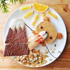 Orsetto scalatore (idee-per-far-mangiare-verdure-ai-bambini) by Samantha Lee