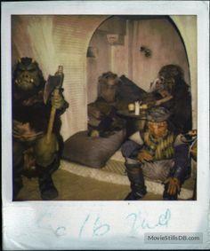 Star Wars: Episode VI - Return of the Jedi - Behind the scenes photo