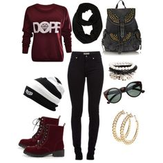"""dope girl swag"" by plussizefashionqueen on Polyvore"
