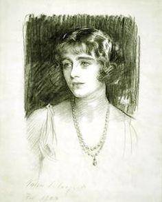 Lady Elizabeth Bowes-Lyon 1923 by John Singer Sargent