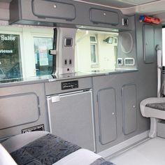 This conversion is specifically designed to offer maximum facilities in a small campervan. It offers a more versatile seating arrangement with up to two shoulder belts and two lap belts in the rear using original Mazda sliding seats. These seats, both with mounted storage trays underneath enable maximum versatility of your vehicle; they are fixed to full length runners to travel the length of the rear. As such it is an ideal conversion for those who want a comprehensive conversion but still…