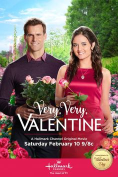 "Very, Very, Valentine - Love blooms between Helen (Danica McKellar) and (Henry) Cameron Mathison. Don't miss ""Very, Very, Valentine"" February 10 at 9/8c on Hallmark Channel!  #VeryVeryValentine #CountdownToValentinesDay #HallmarkChannel"