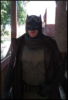 Batman desert cosplay nightmare batwill  not finished