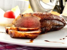 Magret de canard au four - Recette de cuisine Marmiton : une recette