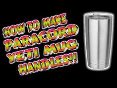 Paracord How To Make Yeti Mug Handles - YouTube
