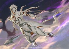 Wisp by Kevin-Glint on DeviantArt Character Concept, Character Art, Concept Art, Fantasy Creatures, Mythical Creatures, Dark Souls, Warframe Art, Warframe Excalibur, Character Design Inspiration