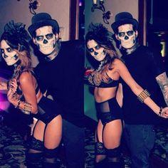 His n Hers Skeleton Costumes