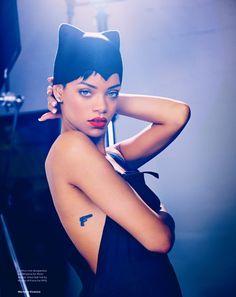 Rihanna in Elle UK