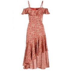 Quiz Ladies Towie Rust & Stone Leopard Cold Shoulder Frill Dress - Rust   Buy Online in South Africa   takealot.com Frill Dress, Live For Yourself, No Frills, Cold Shoulder, Fashion Outfits, Summer Dresses, Stone, Lady, South Africa