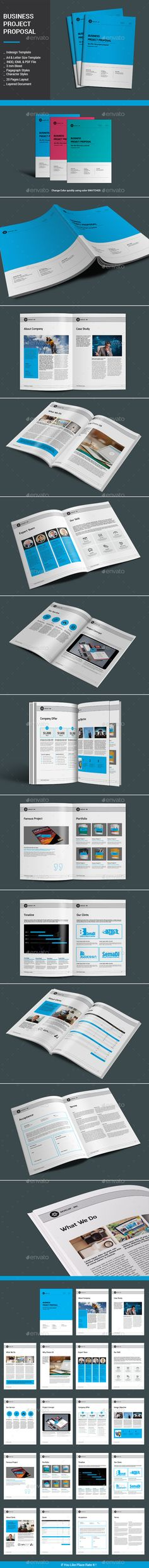Page Full Proposal Package A  Us Letter  Download Designs
