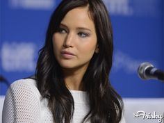 """Jennifer Lawrence-""""In Hollywood I'm considered a fat actress. I'm never going to starve myself for a part. I don't want little girls to be like 'Oh I want to look like Katniss, so I'm going to skip dinner. Katniss Everdeen, Pretty People, Beautiful People, I Look To You, Brown Hair Colors, Hair Colour, Thats The Way, The Bikini, Up Girl"""