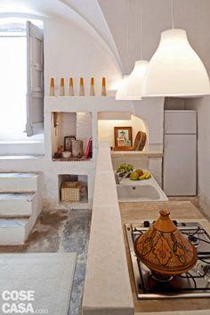 Mediterranean Style- kitchen in Puglia
