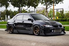 Another beautiful diamond in the rough - - Evo X, Mitsubishi Eclipse, Hot Rides, Stance Nation, Rough Diamond, Jdm Cars, Fast Cars, Subaru, Cars And Motorcycles