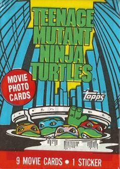 Teenage Mutant Ninja Turtles Movie Cards
