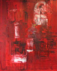 """Antonio Carreno """"Sublime"""", oil on canvas, 72x58 inches, 2007"""