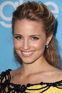Fresh dewy look on Dianna Agron