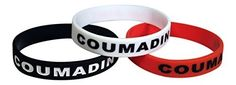 Coumadin Bracelets Medical Alert Silicone Wristbands(Pack of 3) Black, White, Red Plus Bonus Wellness Article Included - For Sale Check more at http://shipperscentral.com/wp/product/coumadin-bracelets-medical-alert-silicone-wristbandspack-of-3-black-white-red-plus-bonus-wellness-article-included-for-sale/