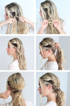 HOW TO: The Triple Braid Pony | via @glitterguide theglitterguide.com