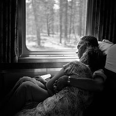 train journey together by vivian maier