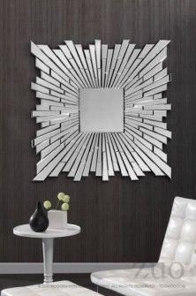 Zuo Modern Bang Mirror Clear
