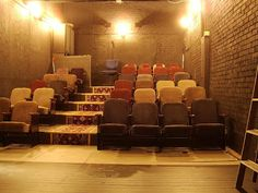 Home theaters interior small theatre - hometheaters Theater Architecture, Public Architecture, Bar Deco, Home Cinema Room, Home Theater Design, Theater Seating, Home Cinemas, Home Buying, Indoor