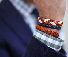 Fancy - Braided Leather Bracelets