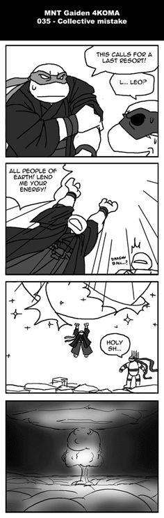 Mutant Ninja Turtles Gaiden » Bakabakashii 35